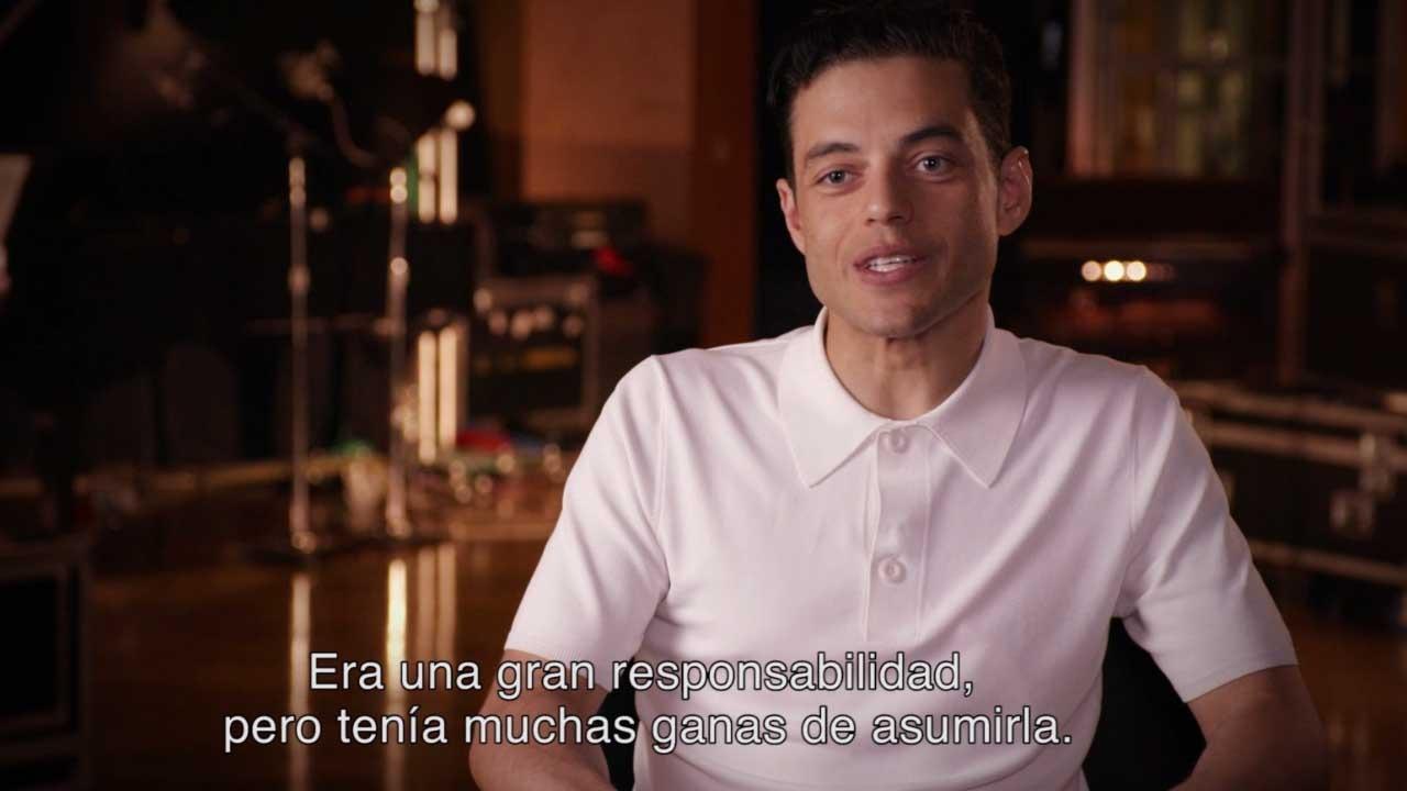 El detrás de cámara de la transformación de Rami Malek